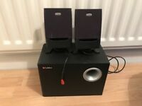 Labtec speakers and subwoofer