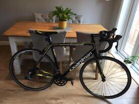 CBoardman sport black 21 inch road bike with accessories