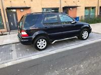 54reg Mercedes ml350 with full service history and long mot