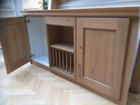 Over head kitchen cupboard