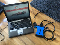 DELL LAPTOP Universal Car Diagnostic With loads of software -