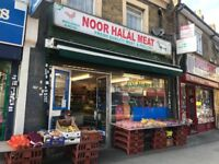 Meat and grocery shop fir sale on herbert road london