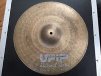 "UFiP Natural Series 16"" Crash Cymbal - Made in Italy - cymbals drums not Zildjian Sabian Paiste"
