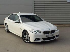2013 (63 reg) BMW 520d M SPORT**FACELIFT**BARGAIN**HUGE SPEC!! Auto, 1 Owner, A6 X5 320d AMG HSE