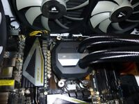 corsair h110i gtx cpu cooler