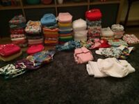 Full Set of reusable cloth nappies