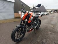 KTM 125cc Duke 2015 ABS