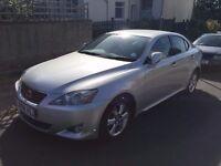 2008 Lexus IS250, Auto, Touch Screen Sat Nav, Reversing Camera, service histories, cheap, urgent