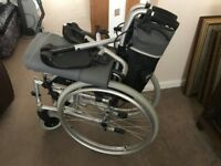 Roma Medical Orbit 1300 Lightweight Aluminium Self Propelled Wheelchair LIKE NEW