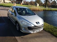 Peugeot 308 Diesel Hatchback HDI Sport 5 Door Excellent condition just had a new Cam Belt and Turbo
