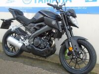 yamaha MT ABS 125 cc 2017 plate 5000 miles mint condition