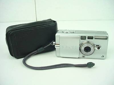 Canon ELPH Z3 Silver APS Point-and-Shoot Film Camera-CLEAN!