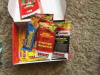 Free pack of sports gel sachets