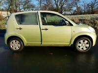 Daihatsu Sirion 1.0 S with AIR CON 12 MONTHS MOT SERVICE HISTORY in PEEFECT CONDITION