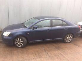 Toyota Avensis 1.8 Petrol 2003-2009,Blue Doors (Bare Door Only)