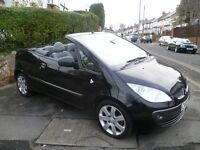 MITSUBISHI COLT CZC CONVERTIBLE 1.5L, 2007 REG WITH LONG MOT, FULL HISTORY, LOW MILEAGE & VERY TIDY