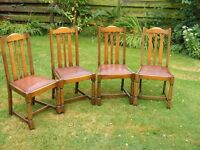 Solid wood High back Chairs