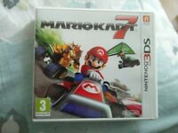Nintendo 3DS Game - Mariokart 7 Boxed and Perfect