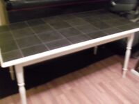Shabby Chic Dining Table only strong good clean condition can deliver manchester or near