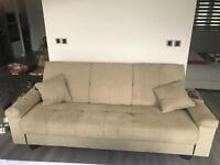 Free sofa bed - decent condition just dirty