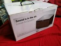 New Boxed Loewe Airspeaker silver
