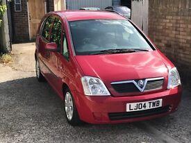 2004 Vauxhall Meriva 1.6 Petrol