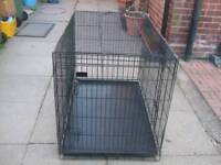 LARGE DOG CRATE / CAGE SIZE 110 X 73 CM.