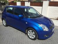 SUZUKI SWIFT GLX 1.5 PETROL**ONLY 59K **2 KEY MOT 18/1/18, KEYLESS ENTRY/M/SYSTEM ALLOY/EX/CON £2195
