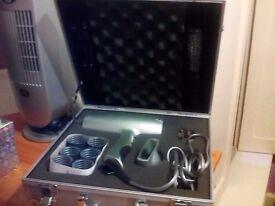 Mark Hill hairdryer case accessories unused