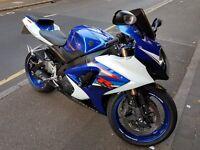 SUZUKI GSX-R1000 K7 , 2007 Reg, 11650 miles, Blue/White