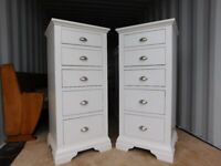 Barker and Stonehouse Carrington 5 Draw Tall Chests £120 each (Delivery)