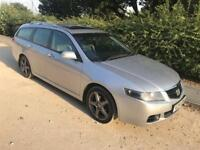 2004/54 HONDA ACCORD 2.2 I CTDI EXECUTIVE ESTATE SILVER