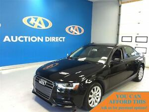 2013 Audi A4 2.0T AWD QUATTRO! SUNROOF! LEATHER!