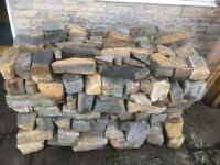 Loose Building Stone - Roughly 2 Ton Excess to requirements