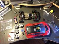 Traxxas Mini rally with upgrades