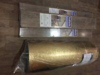 Balterio Quattro Eight 60751 Fossil Oak 8mm AC4 Laminate Flooring + Underlay