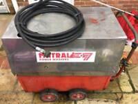 Mistral industrial diesel hot pressure washer