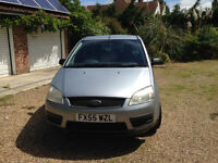 2005 FORD FOCUS CMAX MPV 1600CC ENGINE, NEW CAMBELT, LONG MOT.