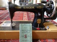A 1941 Antique Singer sewing machine