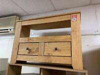 Corner Solid Wood Tv unit - Light Pine
