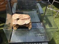 Turtle /terrapin tank and waterfall