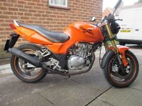 Sinnis Stealth 125cc with 12 month MOT low mileage