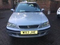 HONDA CIVIC 1.4 AUTOMATIC, FULL SERVICE HISTORY, 2 PREVIOUS OWNER, DRIVE EXCELLENT, LADY OWNER