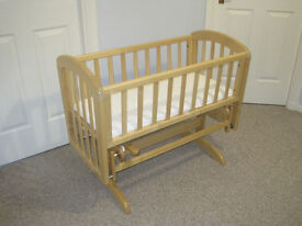 John Lewis Anna Glider Crib Natural