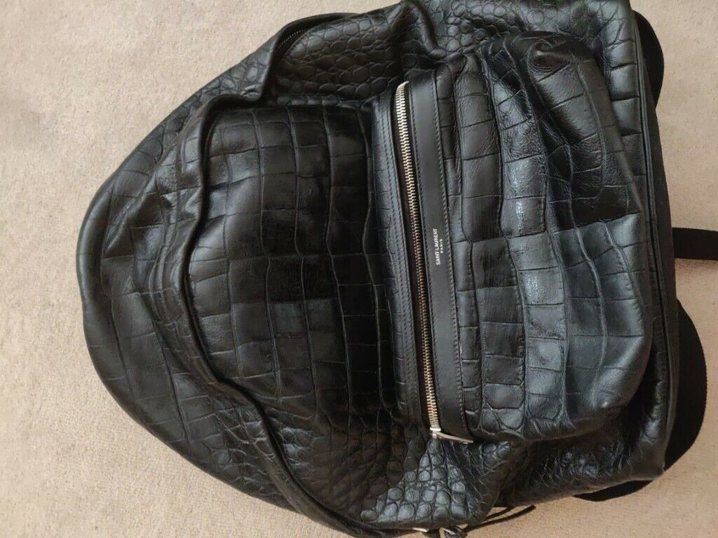 2abbd83d482 Yves Saint Laurent Backpack : men` backpack women leather crocodile