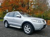 July 2009 Hyundai Santa Fe LIMITED 2.2 CRTD 7 Seater 4X4 JEEP! FULL LEATHER! TOP SPEC! FULL MOT