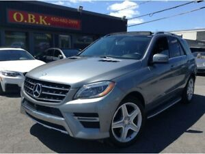 2014 Mercedes-Benz M-Class ML350-BlueTEC-AMG PKG-4MATIC-TOIT PAN