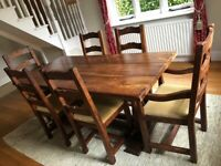 William Sheppee Dining table & chairs
