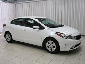 2017 Kia Forte LX+ SEDAN w/  AC, BLUETOOTH AND BACK-UP CAMERA !!