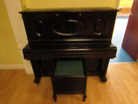 Upright Piano For Spares, Repair or Scrap